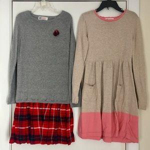 Girls's 6-8Y Sweater Dress Bundle, H&M